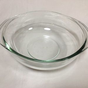 Pyrex #024 2 QT Mixing Bowl with Handles Glass